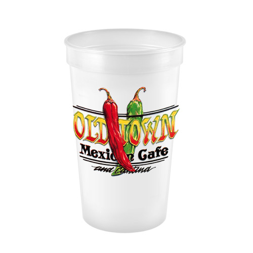 Promotional Stadium Cup - Digital Imprint - 22oz