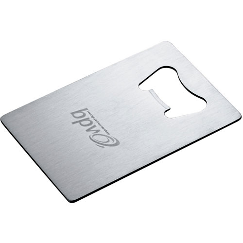 Promotional Stainless Credit Card Size Bottle Opener