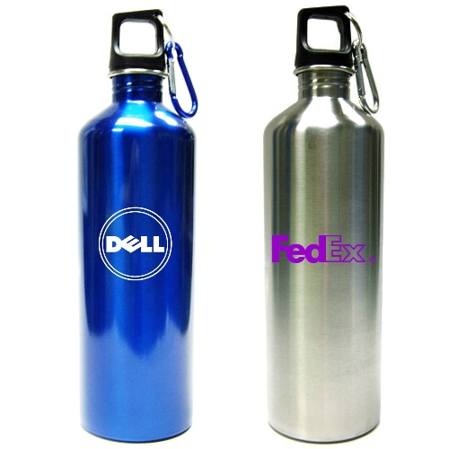 Promotional Stainless Steel Bottle with Clip