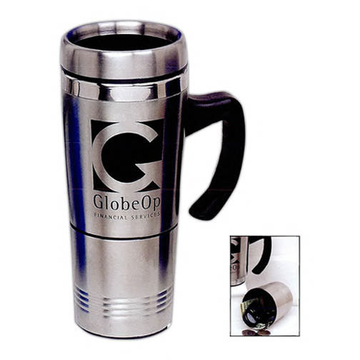 Promotional Stainless Travel Mug with Storage