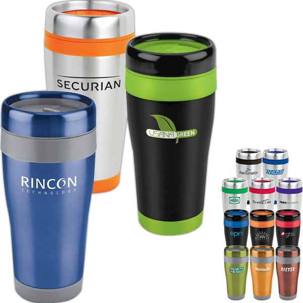 Promotional Stainless Steel Tumbler 16oz