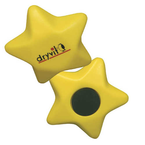 Promotional Star Magnet Stress Ball