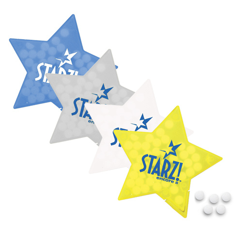Promotional Star Mints