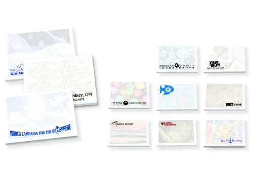 Promotional Sticky Notes 4 x 3 -100 Sheets
