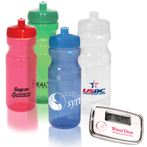 Promotional Stride Pal and Bottle Combo