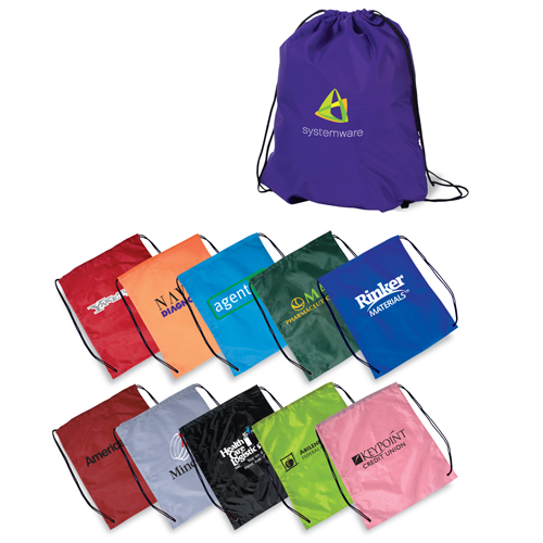 Promotional String-A-Sling Backpack