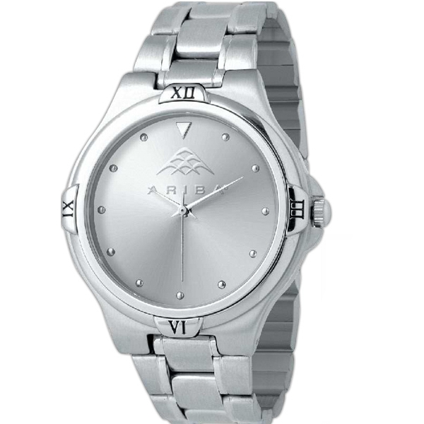 Promotional Silver Designer Watch Mens