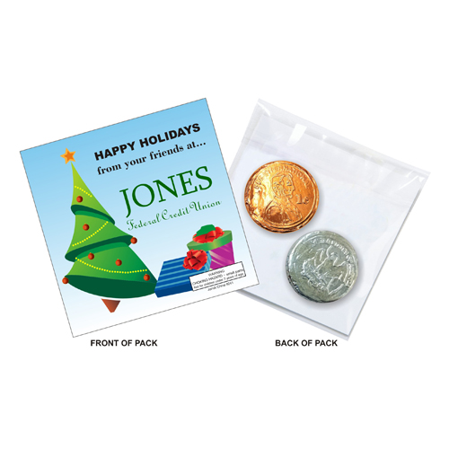 Promotional Sweet Surprises™ Bubble Gum Coins