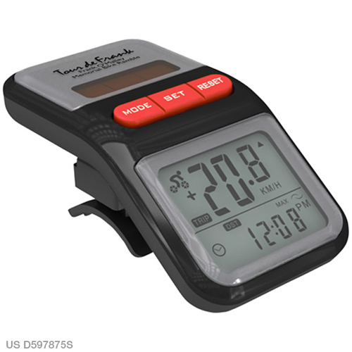 Promotional Trail Tracker Bike Odometer