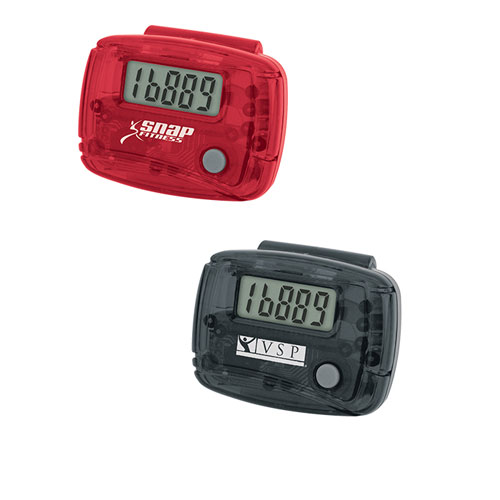 Promotional Translucent Stepper Pedometer