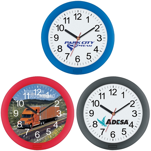 Promotional Translucent Wall Clock 10 Inch