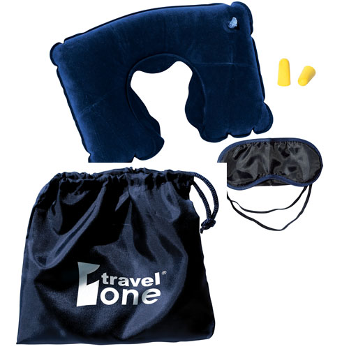 Promotional Travel Kit with Neck Pillow
