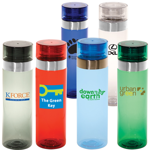 Promotional Tritan (TM) Vortex Bottle - 27oz