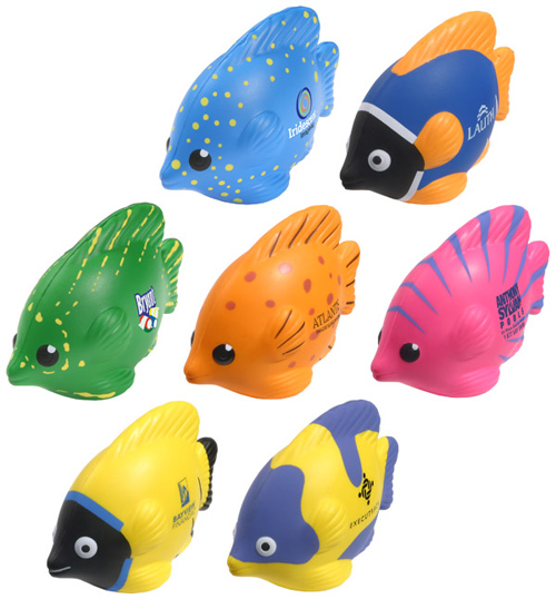 Promotional Tropical Fish Stress Ball