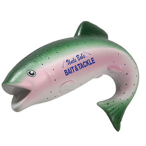 Promotional Trout Stress Ball