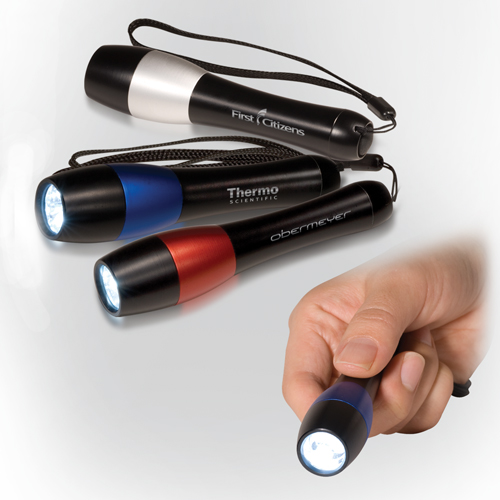 Promotional Two-Tone 3 LED Torch