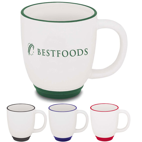 Promotional Two-Tone Bistro Mug 12 oz