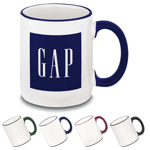 Promotional Two-Tone Mug 12 oz