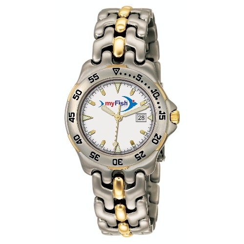 Promotional Two Tone Technica Watch - Mens