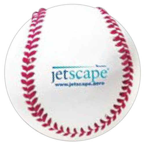 Promotional Vinyl Cover Baseball