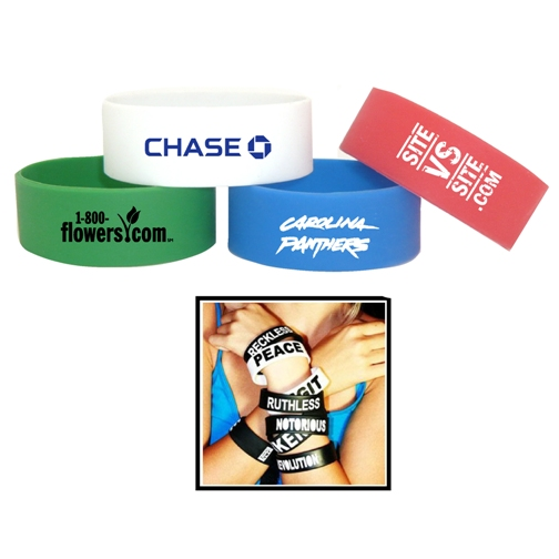 Promotional Wide Wristband