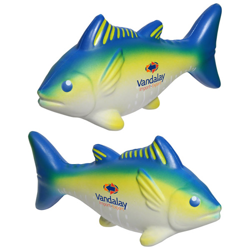 Promotional Yellowfin Tuna Stress Reliever
