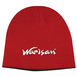 Two Tone Knit Cap Red