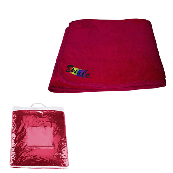 Deluxe Plush Blanket Red