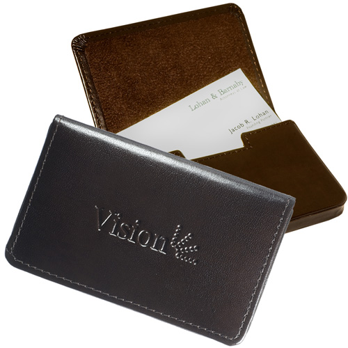 Soho Magnetic Card Case Brown