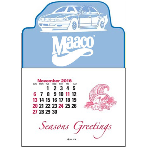 Press-N-Stick™ -Custom  Car Calendar