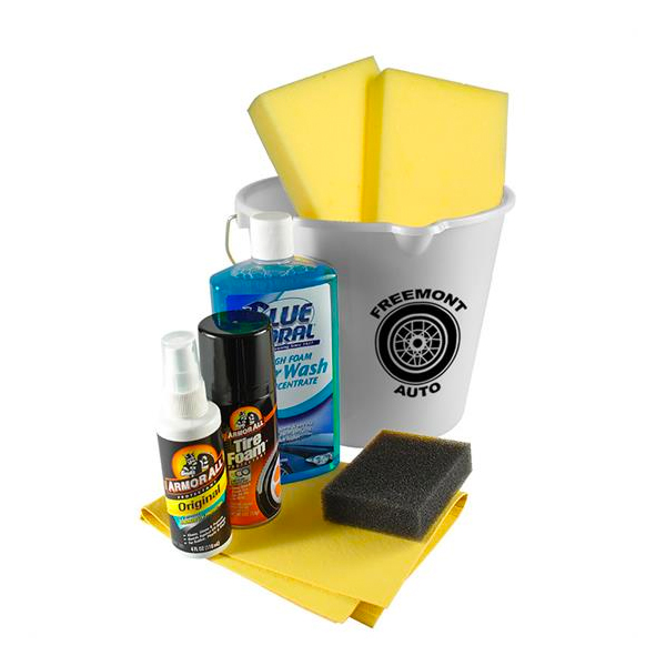Complete Car Wash Kit White