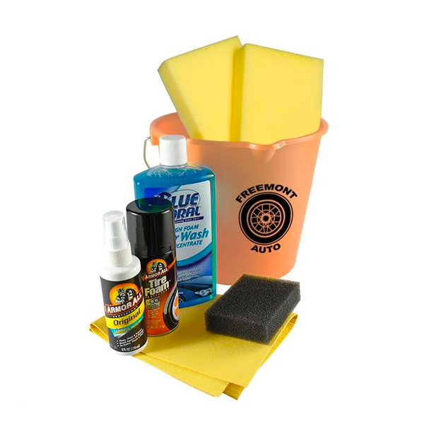 Complete Car Wash Kit Tan