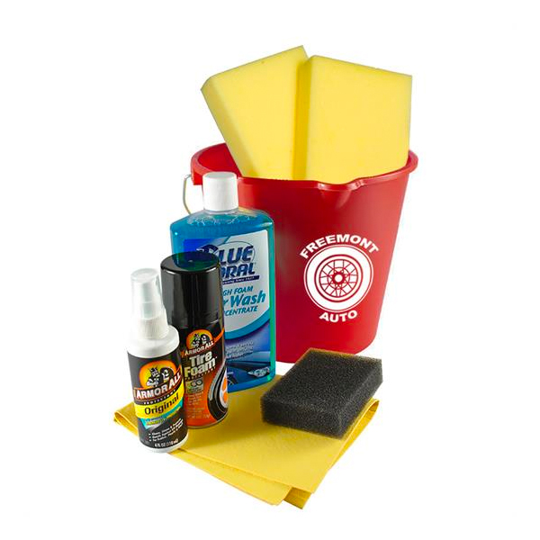 Complete Car Wash Kit Red
