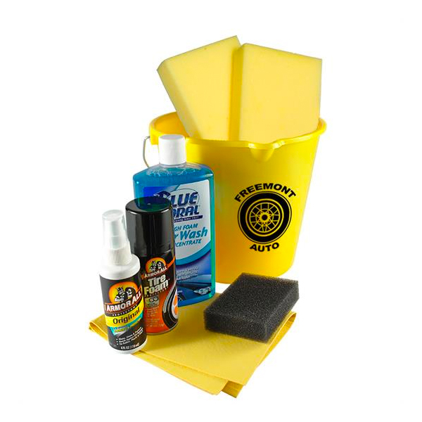 Complete Car Wash Kit Yellow
