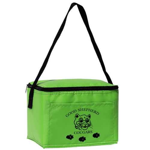 6-Pack Cooler  Lime Green