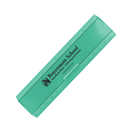 Leading Edge Ruler 6 Inch Translucent Green