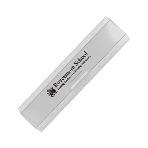 Leading Edge Ruler 6 Inch Translucent Frost