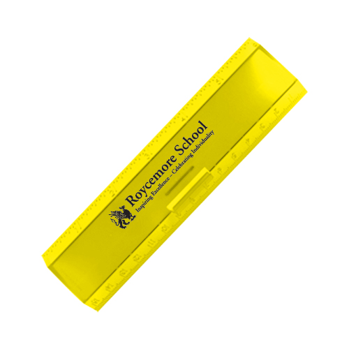 Leading Edge Ruler 6 Inch Yellow