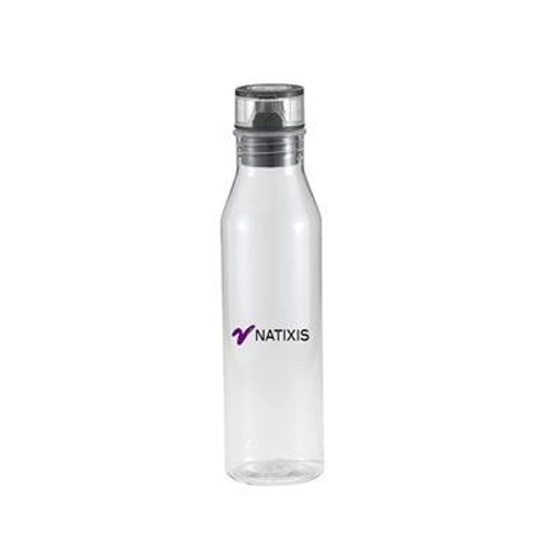 Carmel Coloful Water Bottle Clear