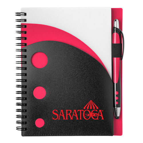 Illusion Notebook Red