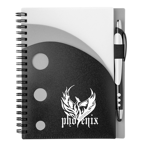 Illusion Notebook Silver