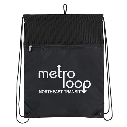 Court Drawstring Backpack