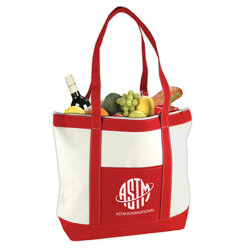 Harbor Tote Red