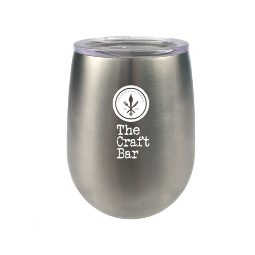 Stemless Wine Tumbler - 9oz Stainless