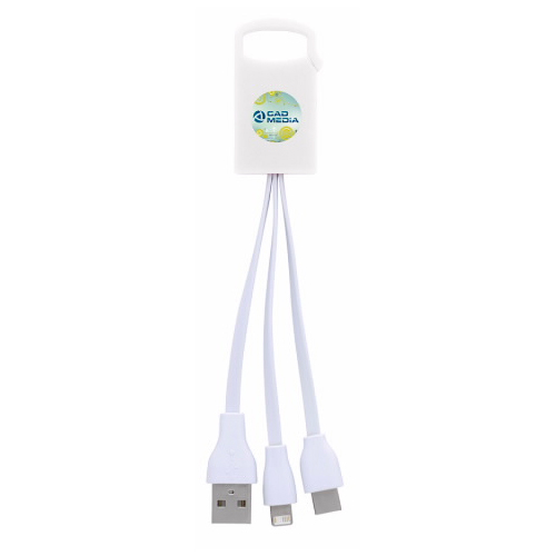Dual Charging Cable with USB