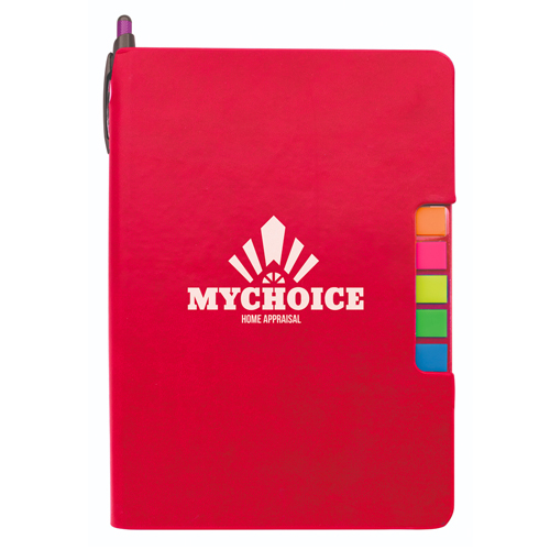 Sticky Flag Journal  Red