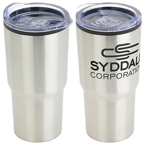 Odyssey 20oz. Stainless Steel/Polypropylene Travel Tumbler  Silver