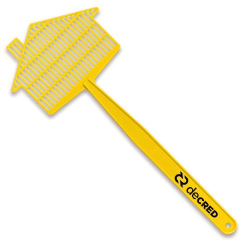 Medium House Fly Swatter  Yellow