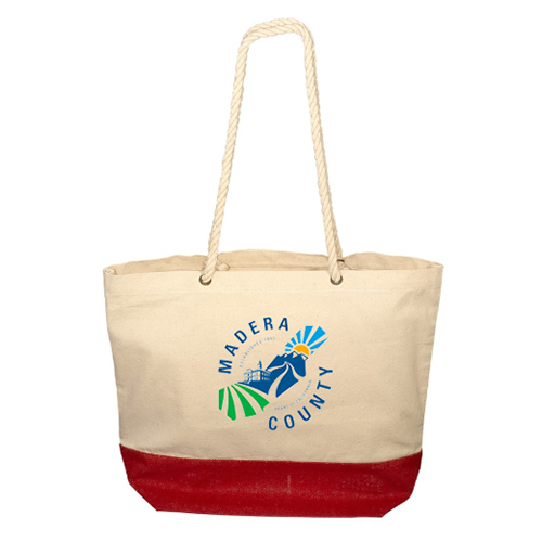 Zing Cotton & Jute Tote