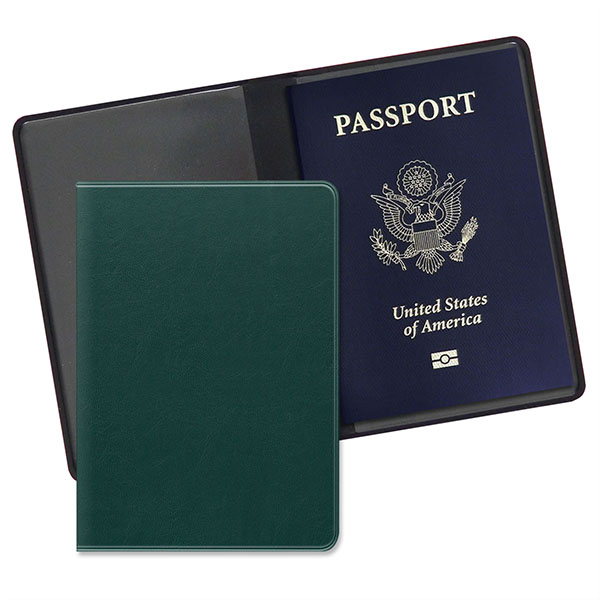 Economy Passport Case Executive Green